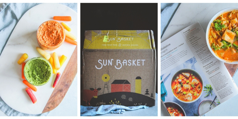 Sun Basket meal delivery for new moms