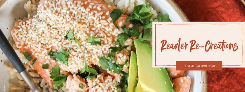 Sesame Salmon Rice Bowls