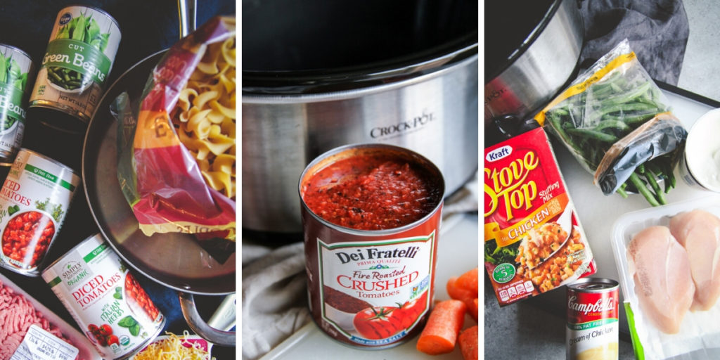 Recipes to make with canned foods