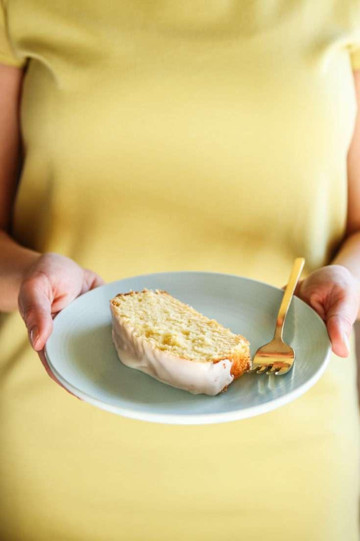 Gluten-Free Lemon Loaf with Frosting
