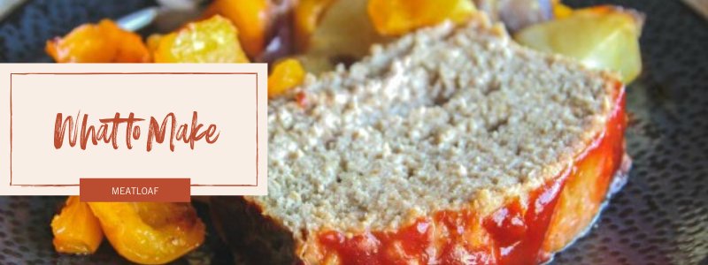 Turkey Meatloaf with Roasted Vegetables