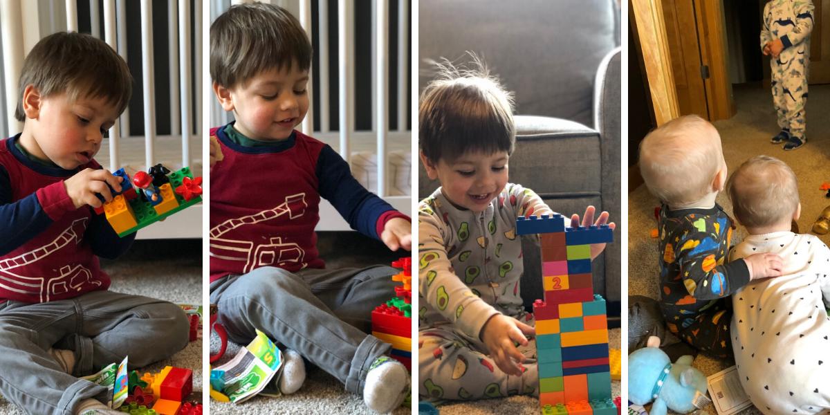 Ben and his Legos