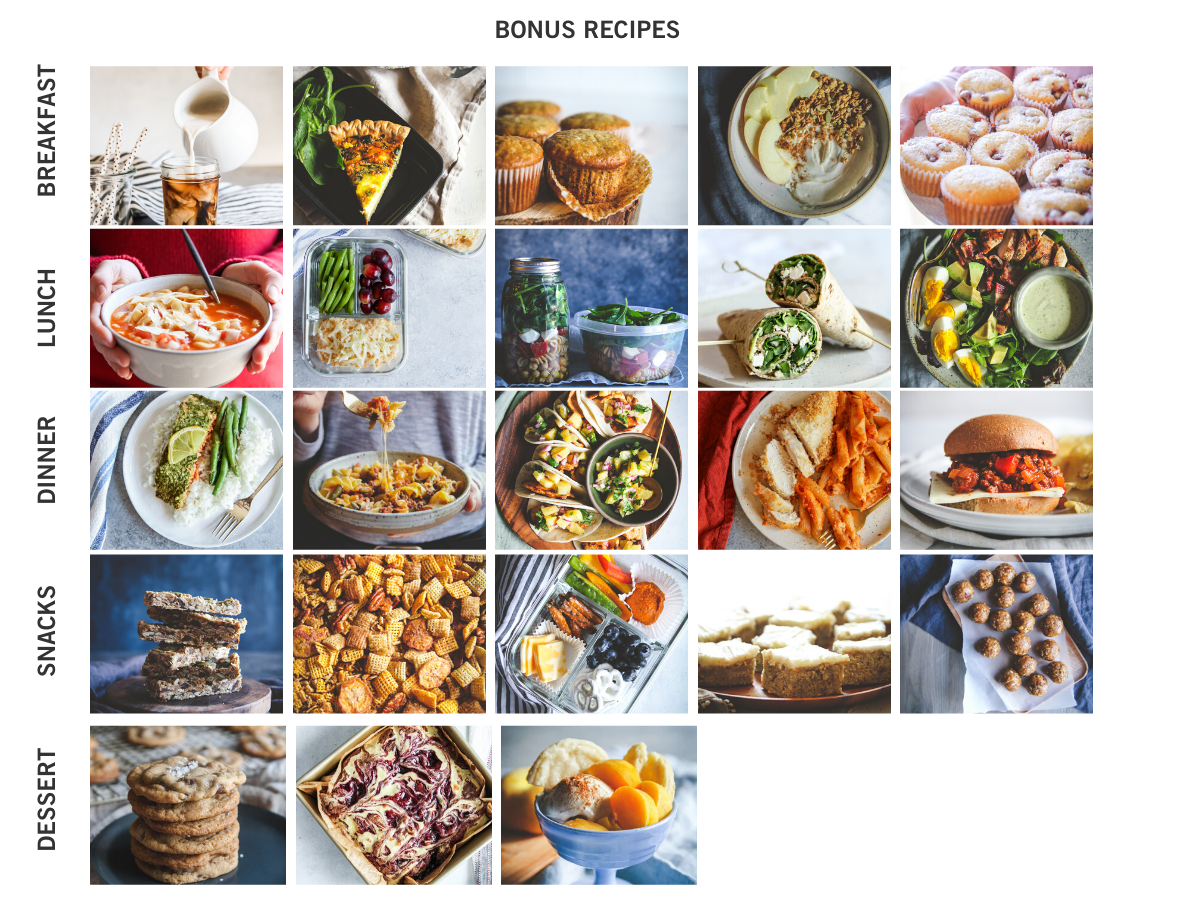 Bonus Recipes