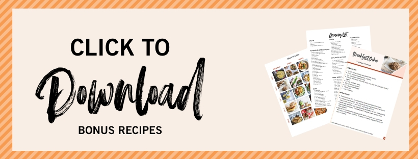 Click to download a 5 day family meal plan and shopping list