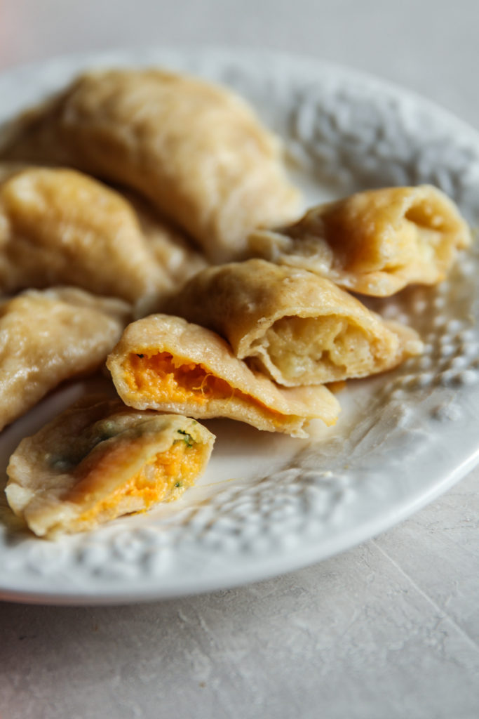 Sourdough pierogi recipe with sourdough starter discard
