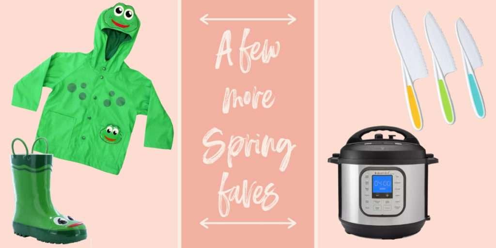 Family spring favorite items