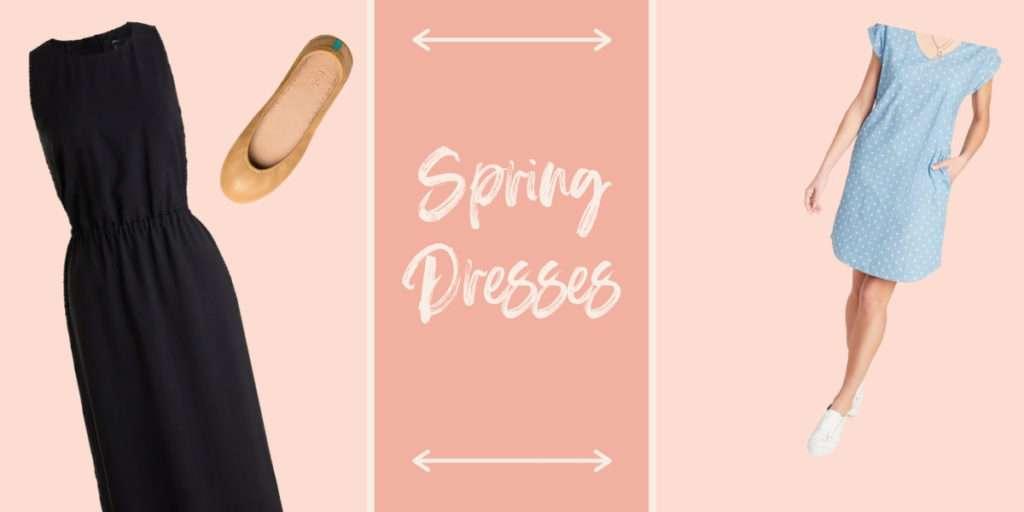 Spring dresses for moms, mom spring essential clothes
