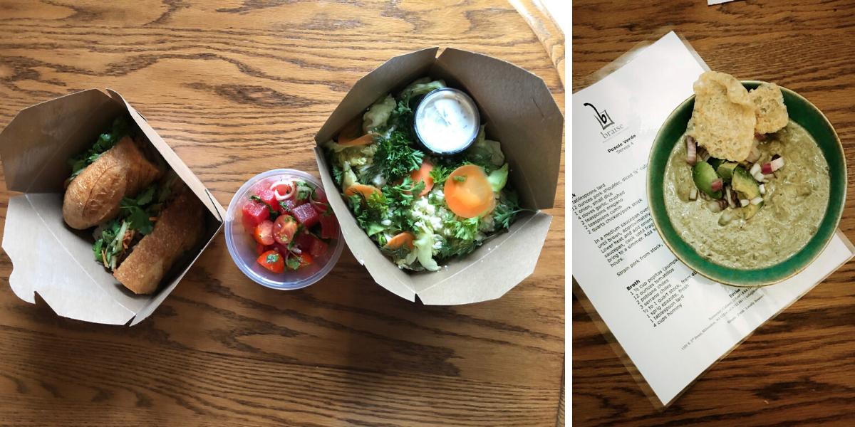 Local food options