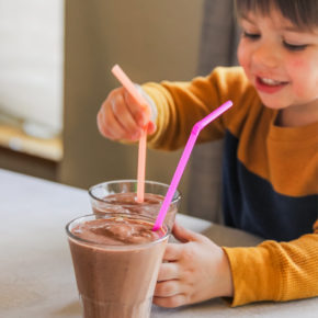Chocolate milkshake recipe for kids