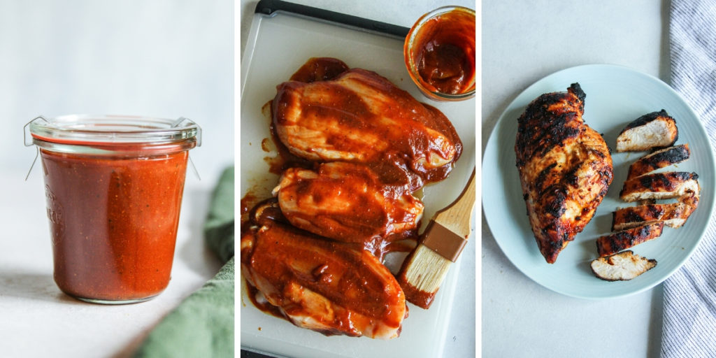 Homemade bbq sauce for chicken
