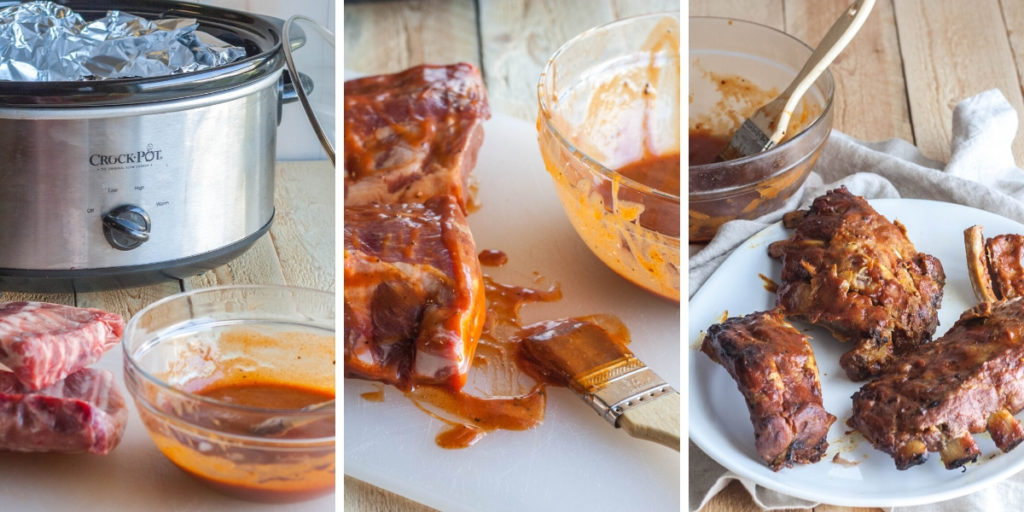 Homemade BBQ sauce for ribs
