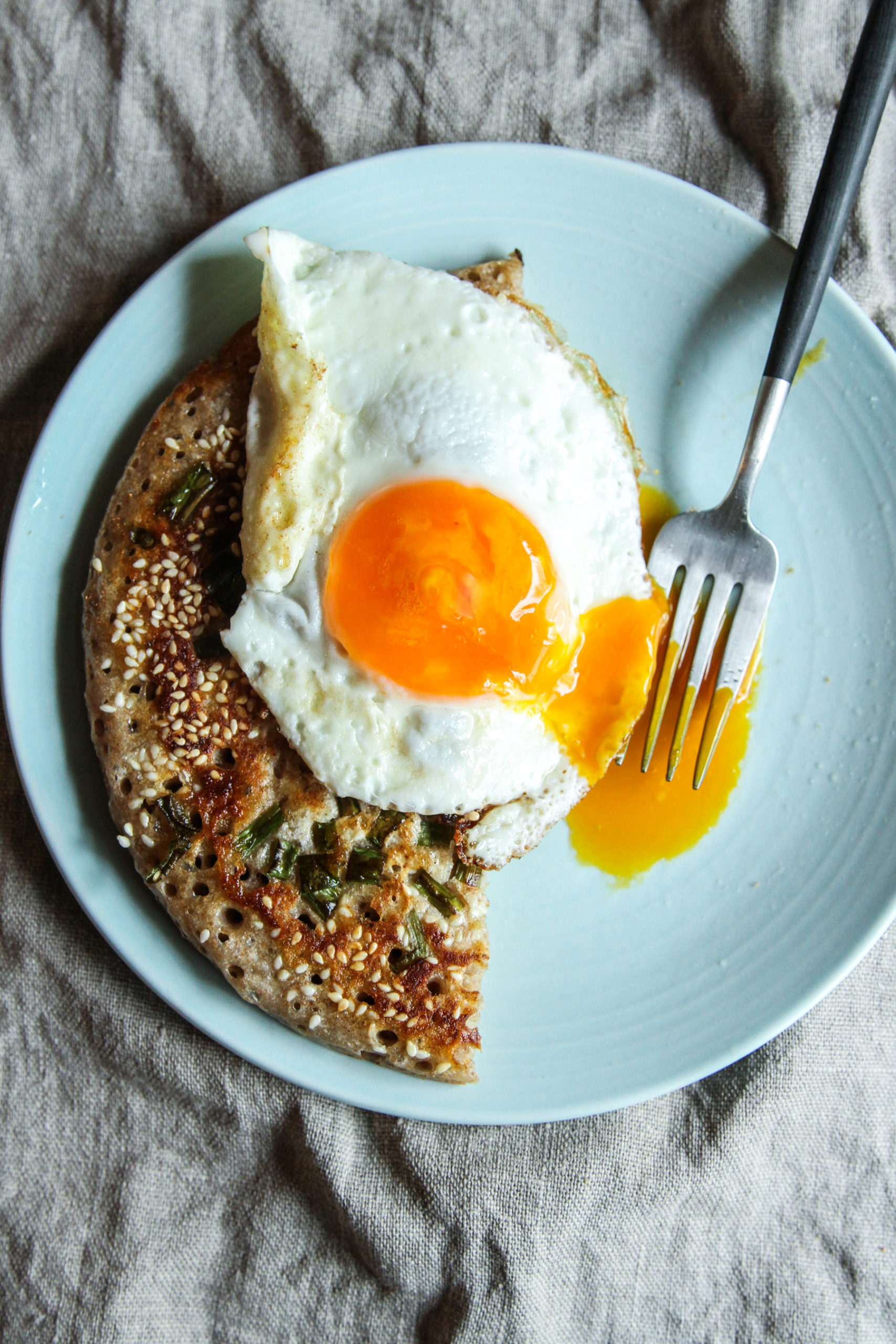 The best scallion pancake