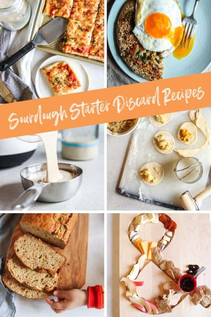 Sourdough starter discard recipes - zero waste sourdough starter