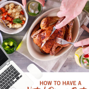 How to host a virtual dinner party