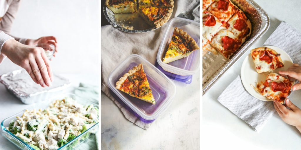 Make ahead meals for virtual dinner party