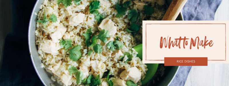 5-Ingredient Cilantro Lime Chicken and Brown Rice Skillet