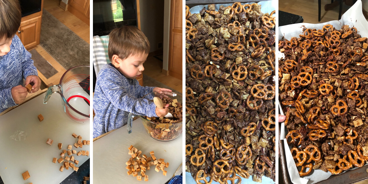 Turtle Chex Mix with Ben