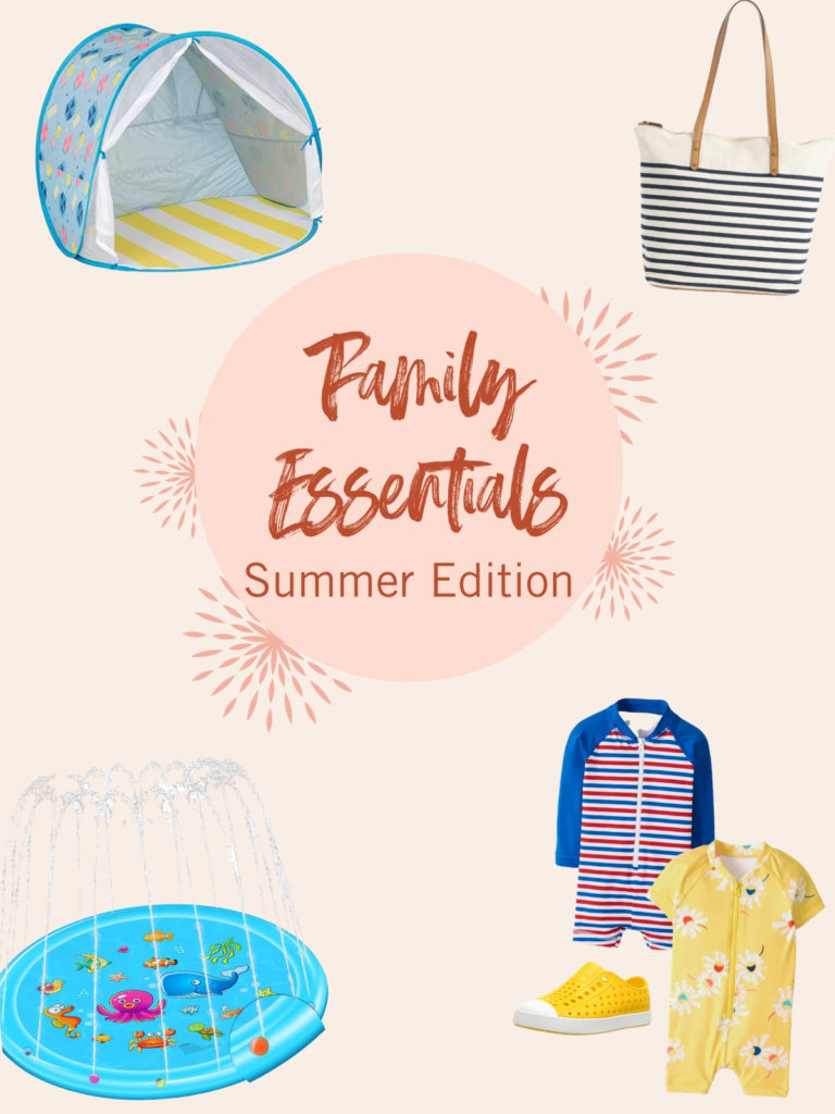 Family essentials summer edition