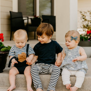 What it's like having twins and a toddler