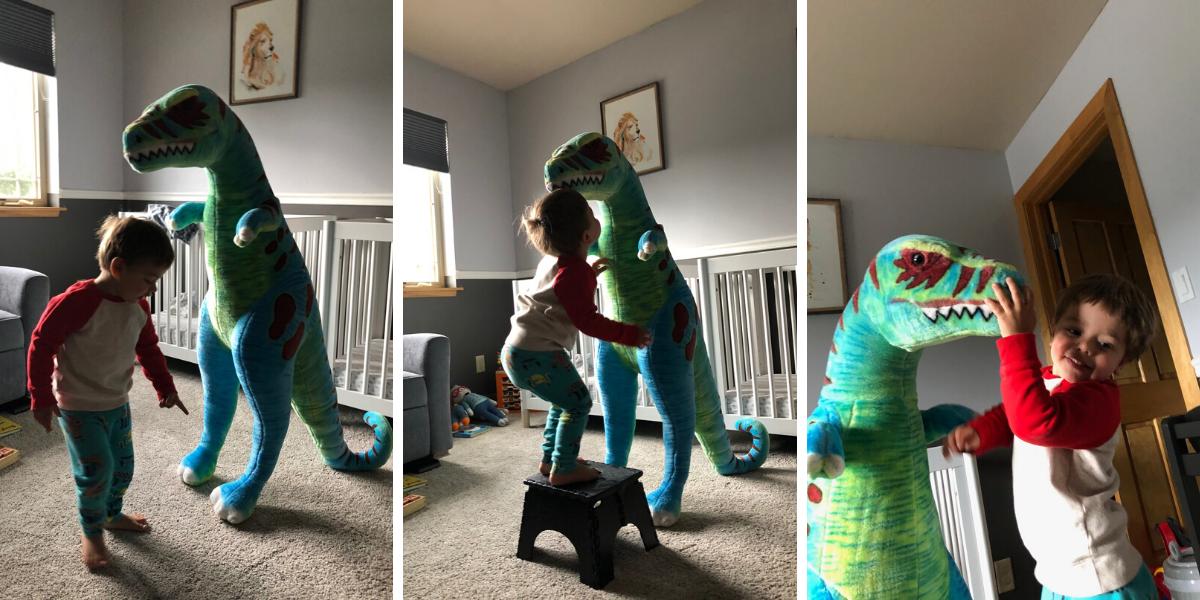 Dinosaur Hugs