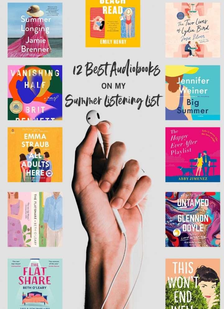 2020 Summer Audible Book Listening List