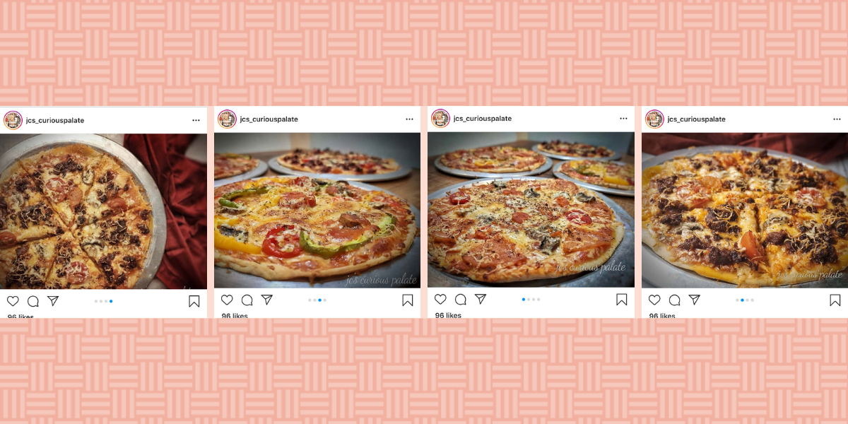 Whole wheat pizza crust