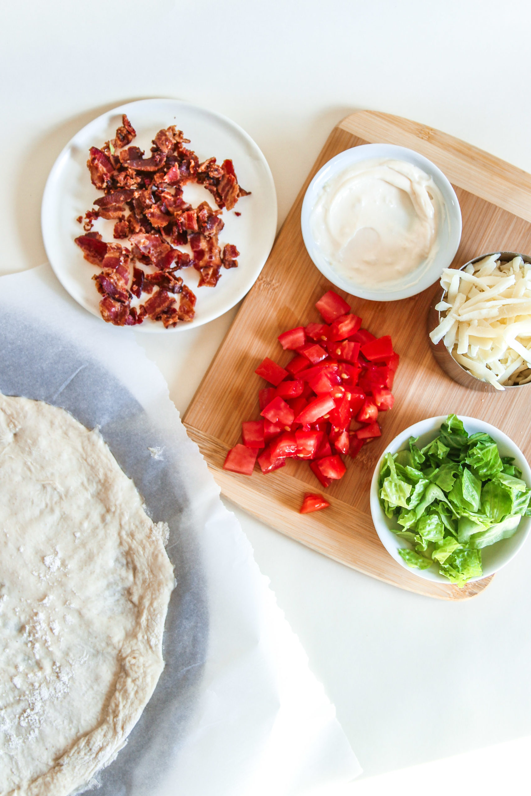 BLT Pizz Recipe