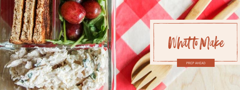 What to make - easy to grab lunches