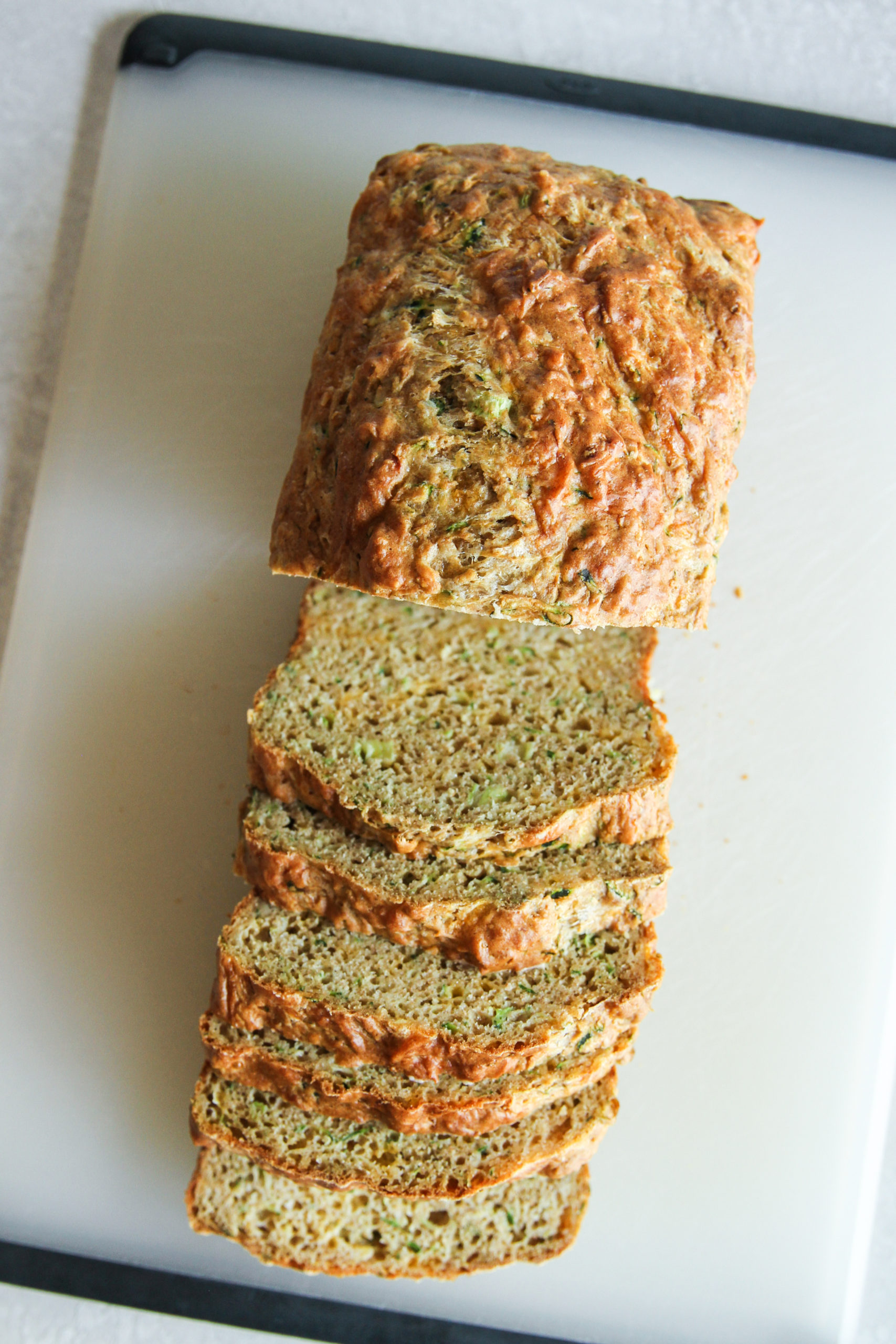 The best recipe for Zucchini cheddar bread
