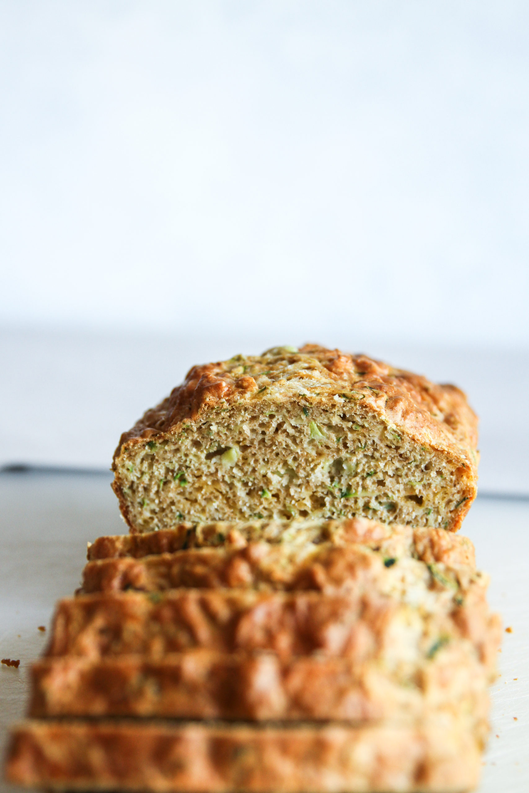 The most delicious zucchini cheddar bread