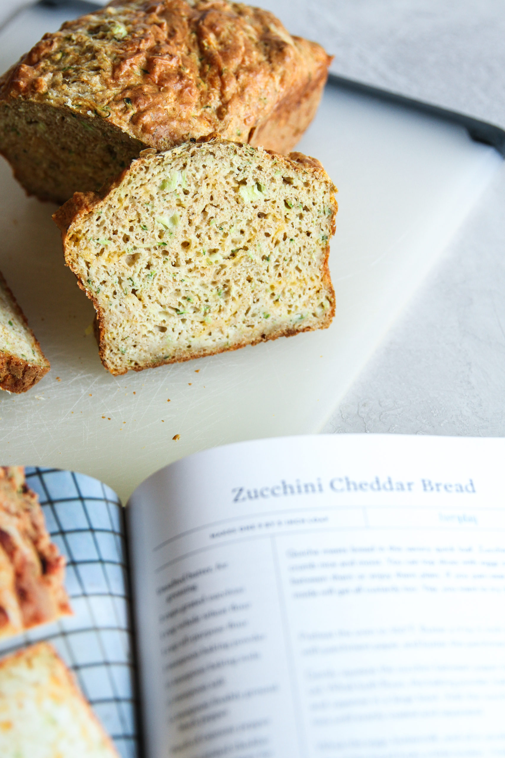 How to make the best zucchini cheddar bread