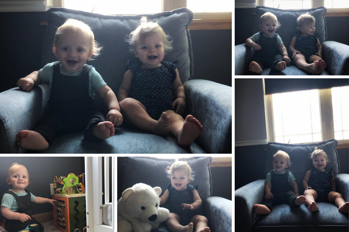 Twins growing