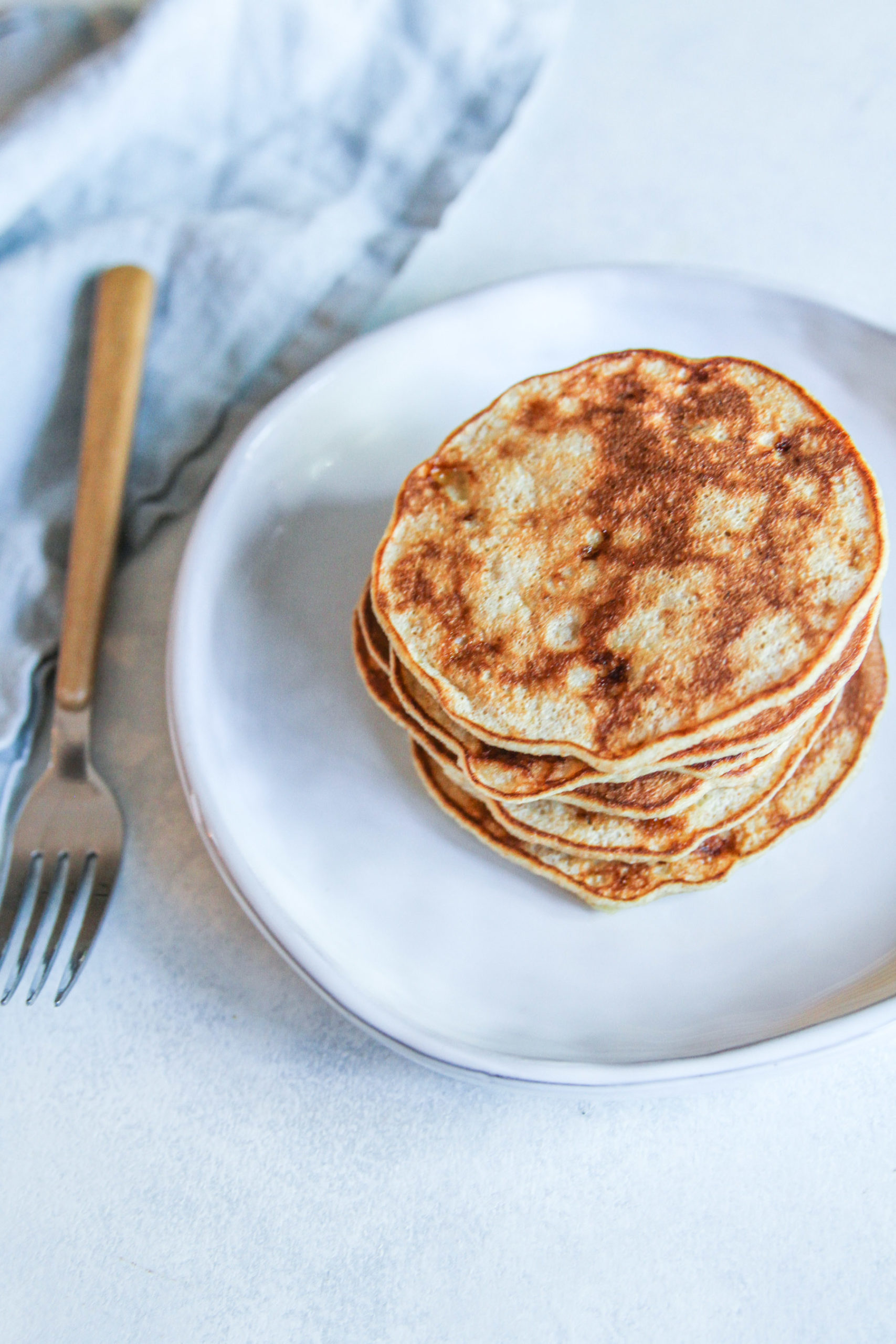 3 Ingredient Banana Pancakes Recipe Sweetphi