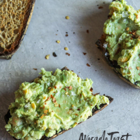 Avocado Toast with Chickpeas