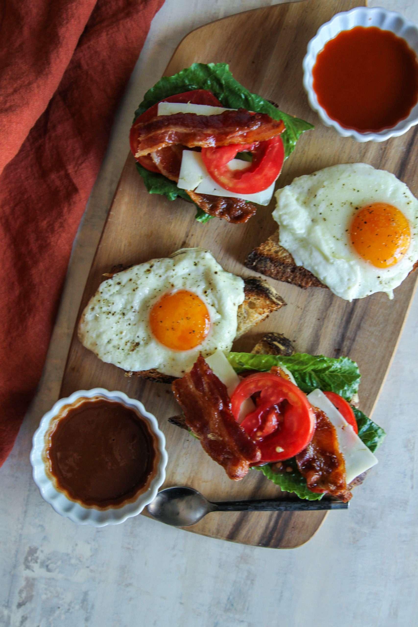 The most amazing recipe for a beltch breakfast sandwich