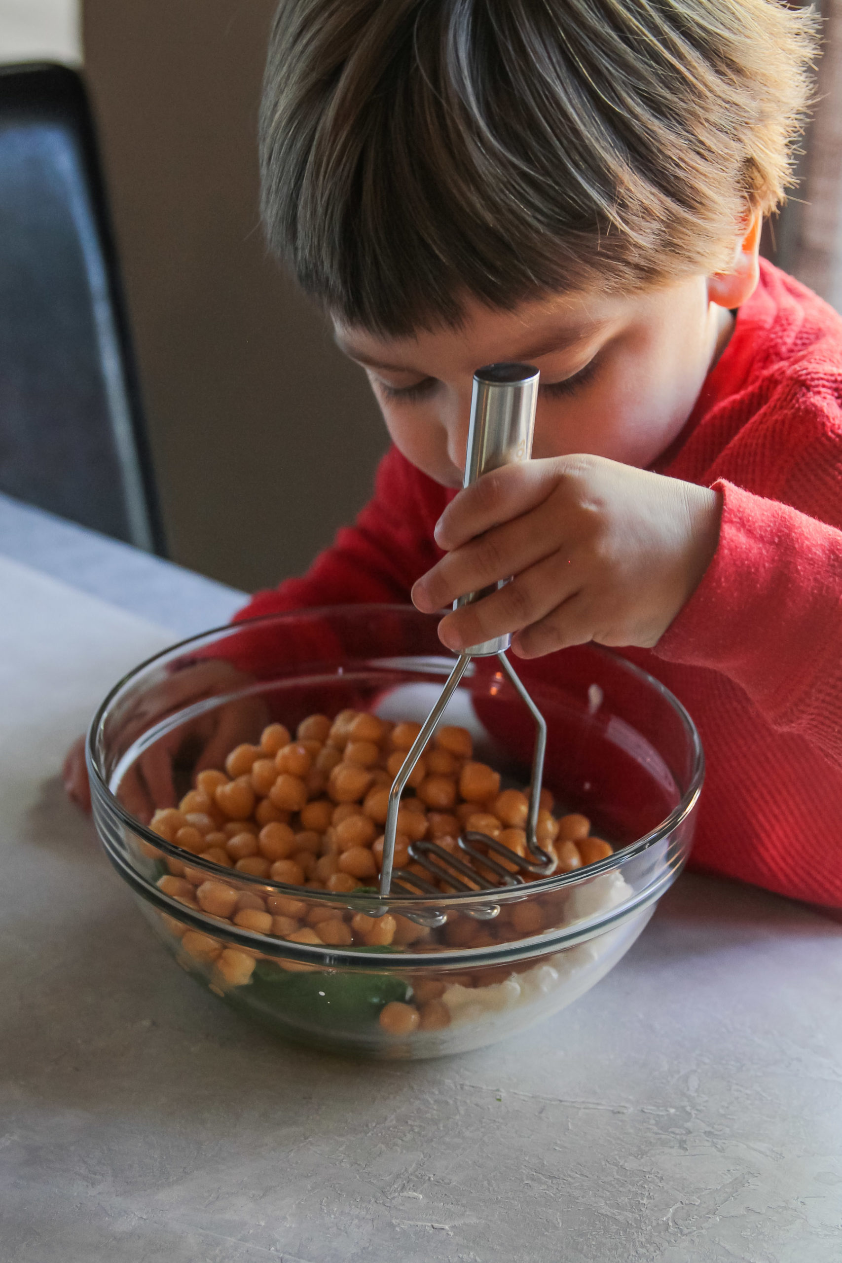 How to make chickpea avoado mash
