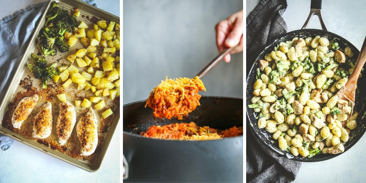 The best one pan one pot meals!