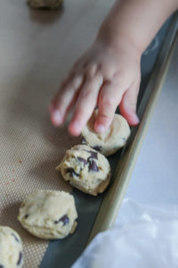The best freezer chocolate chip cookies