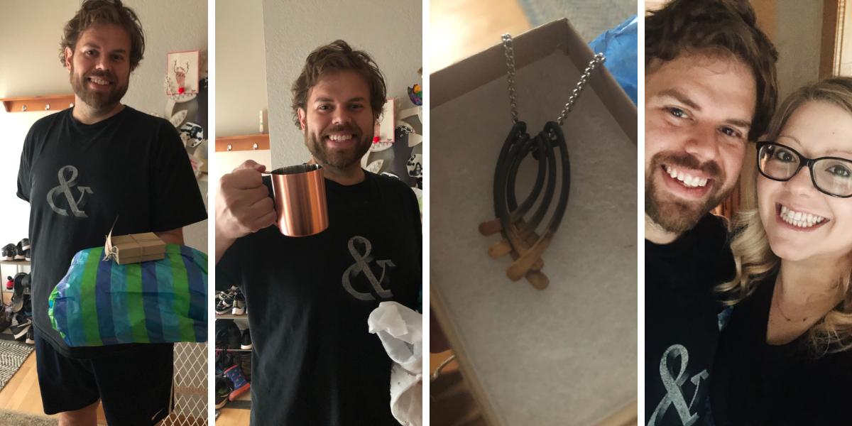 Anniversary gift - bronze