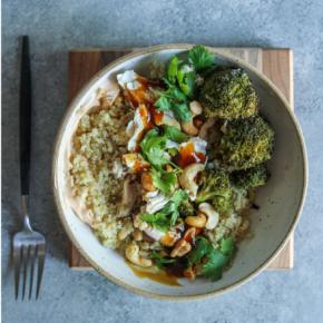 Asian Chicken and Quinoa Bowls Recipe