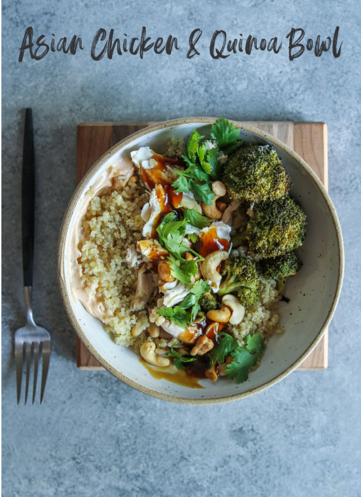 Asian Chicken and Quinoa Bowls Recipe