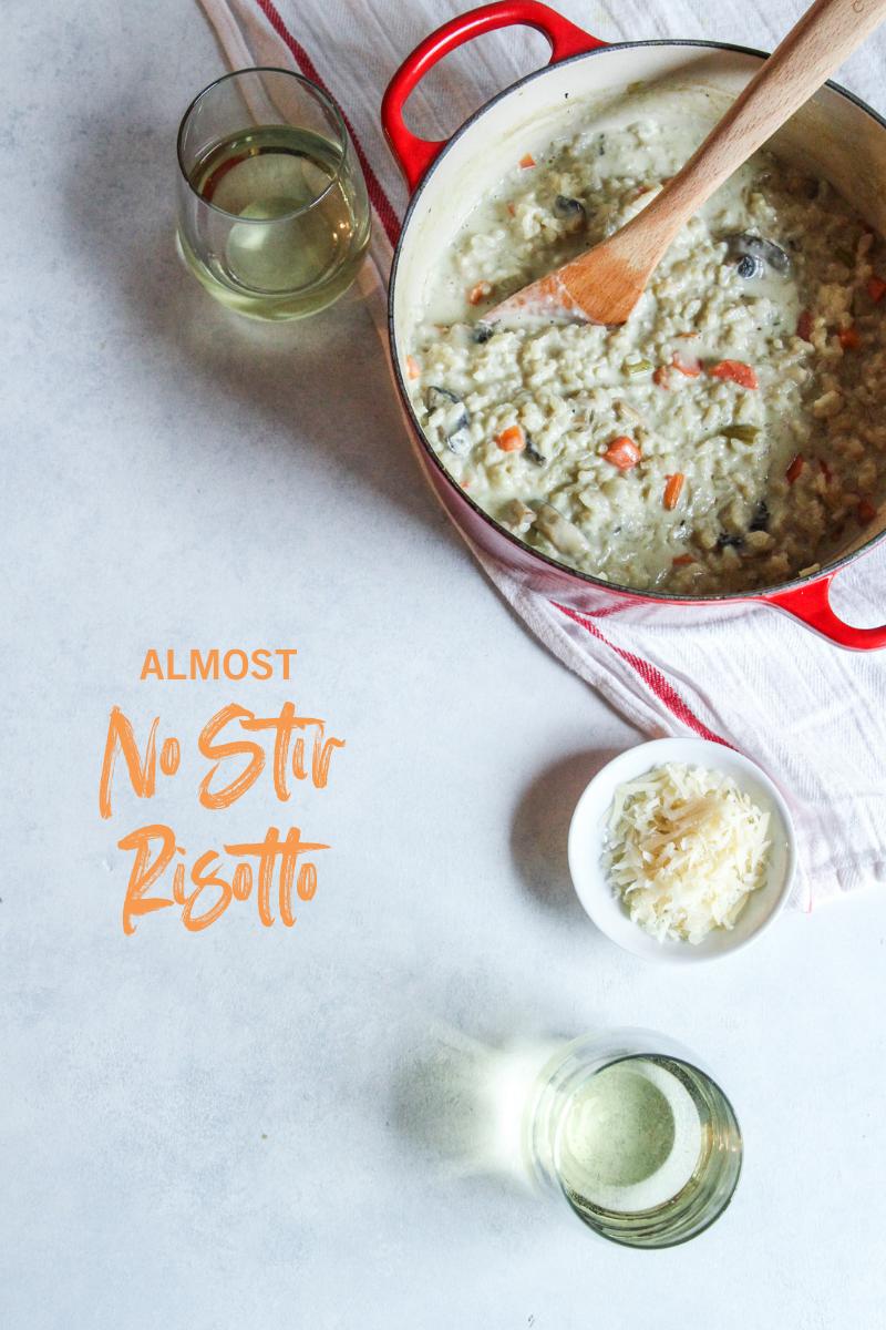 The most delicious Almost No Stir Risotto