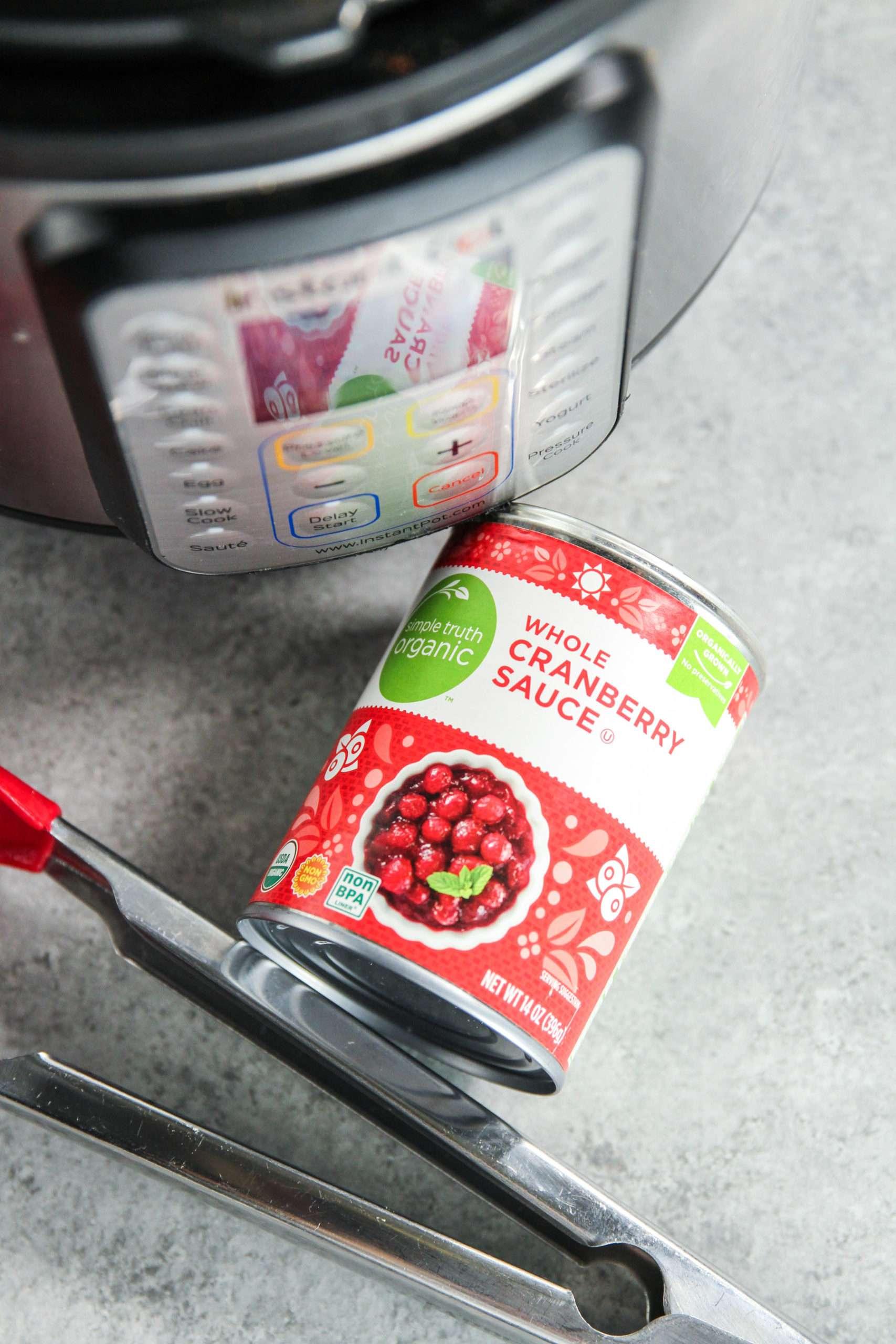 The best ingredients for instant pot cranberry pork tenderloin