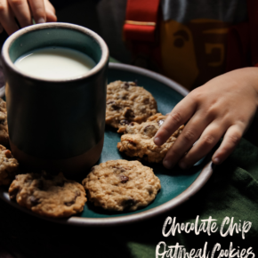 Chocolate Chip Oatmeal Cookies Recipe (with Cherries)
