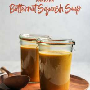 Freezer Butternut Squash Soup