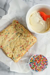Sprinkle Cookie Bars Recipe