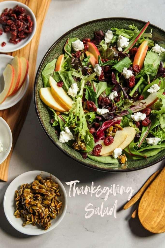 Thanksgiving Salad Recipe Sweetphi