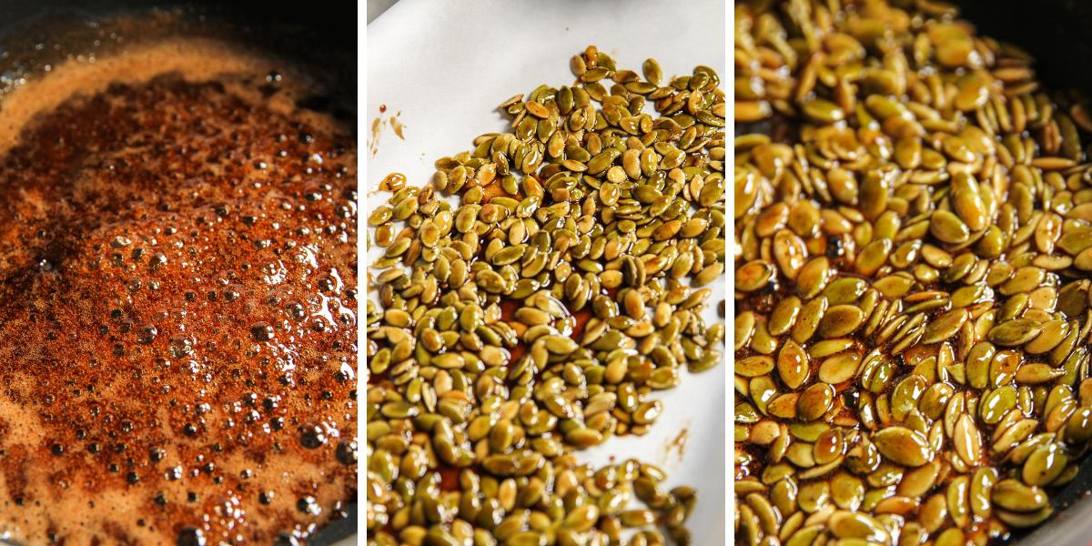 Toasted pepita seeds