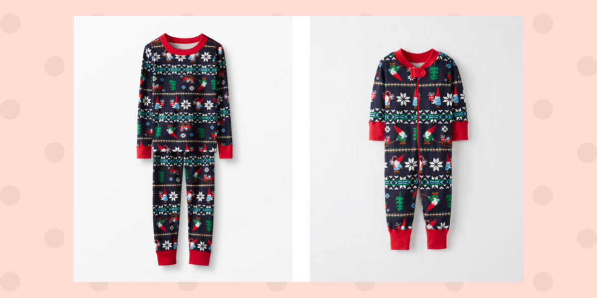 Hanna Andersson Christmas gnome pajamas