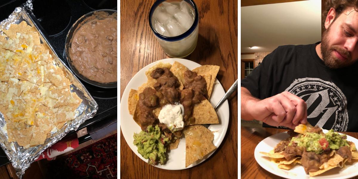 What I made - nachos